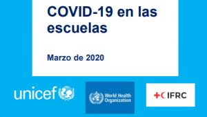 Lee más sobre el artículo COVID-19: guía conjunta de Cruz Roja, UNICEF y OMS