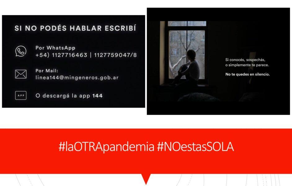 Puertas adentro. #laOTRApandemia