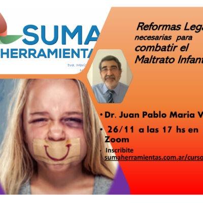 REFORMAS LEGALES para combatir EL MALTRATO de NNyA