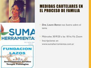 Lee más sobre el artículo Protegido: Dra. Laura Barca -MEDIDAS CAUTELARES EN EL  PROCESO DE FAMILIA -CONSULTANOS AL +54 9 11 3864 2683 como podes ver el video